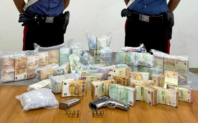 arresto palmi armi denaro droga