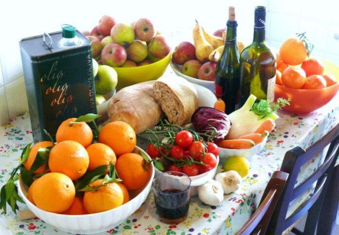 dieta longevità prodotti calabresi