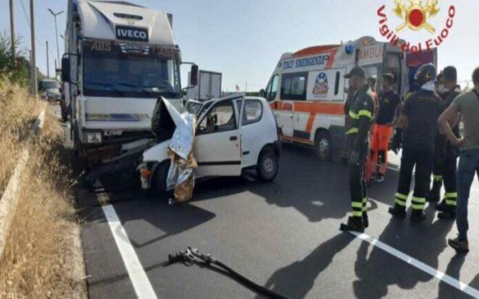 incidente stradale rc