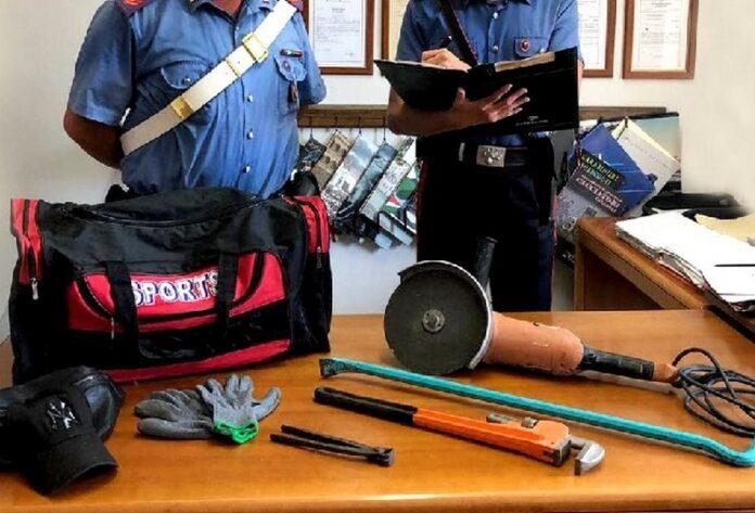 palizzi arresti furto abitazione