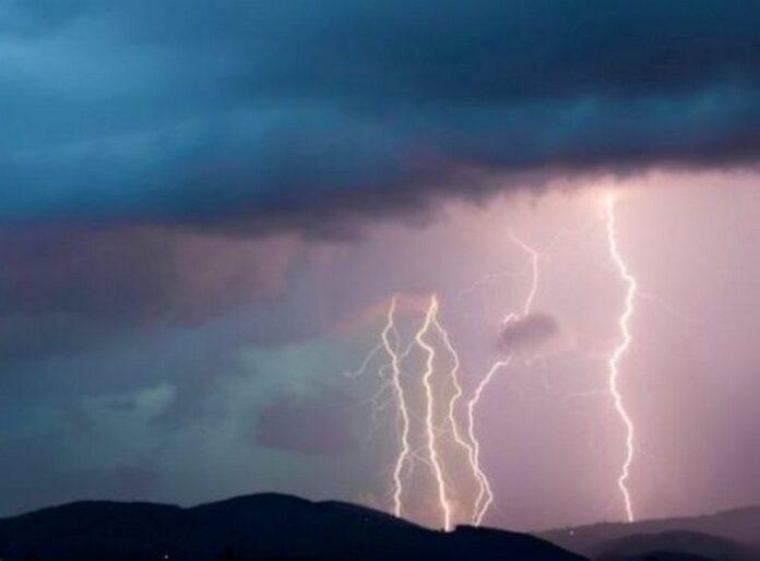temporali fulmini