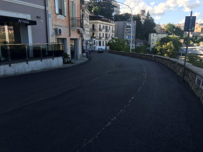 asfaltatura strade catanzaro