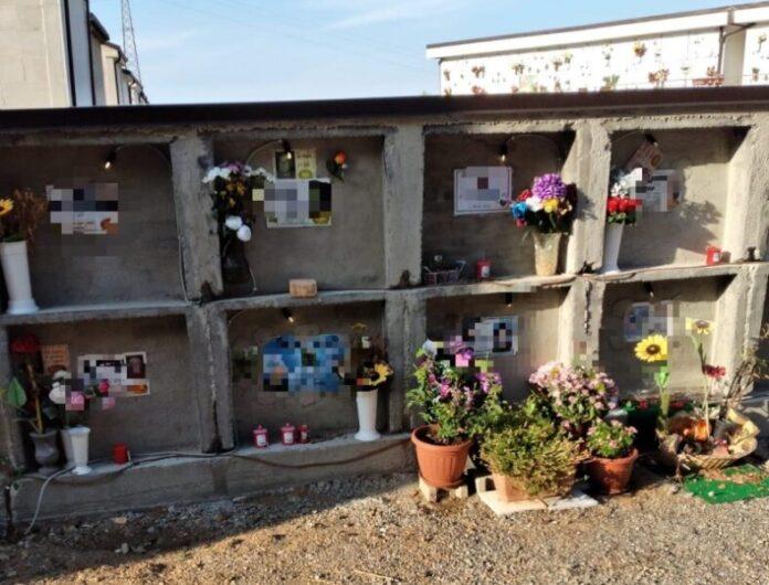 loculi aperti cimitero Rossano