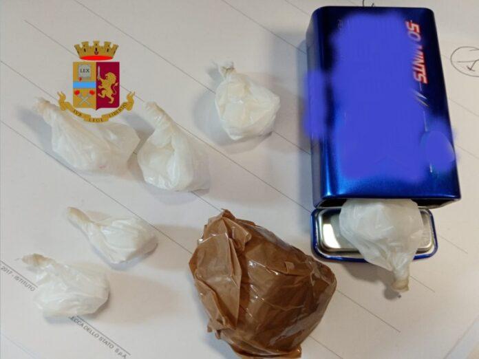 arresto Cosenza spaccio droga