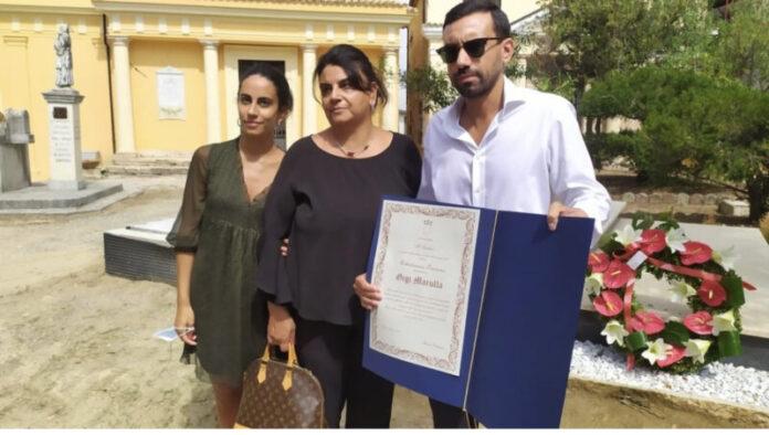 cittadinanza onoraria Gigi Marulla Cosenza