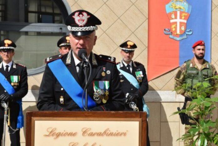 nuovo capo carabinieri Calabria