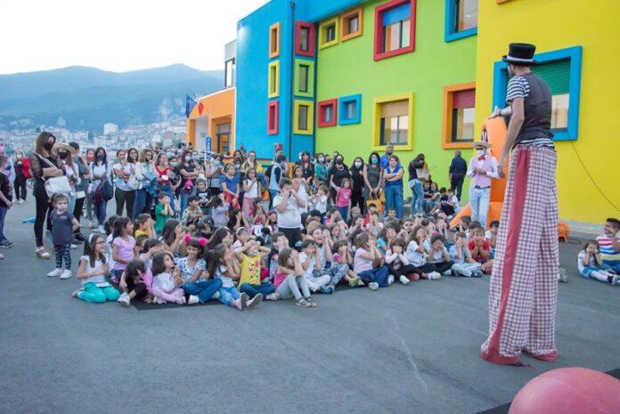 Inaugurazione scuola Saracena
