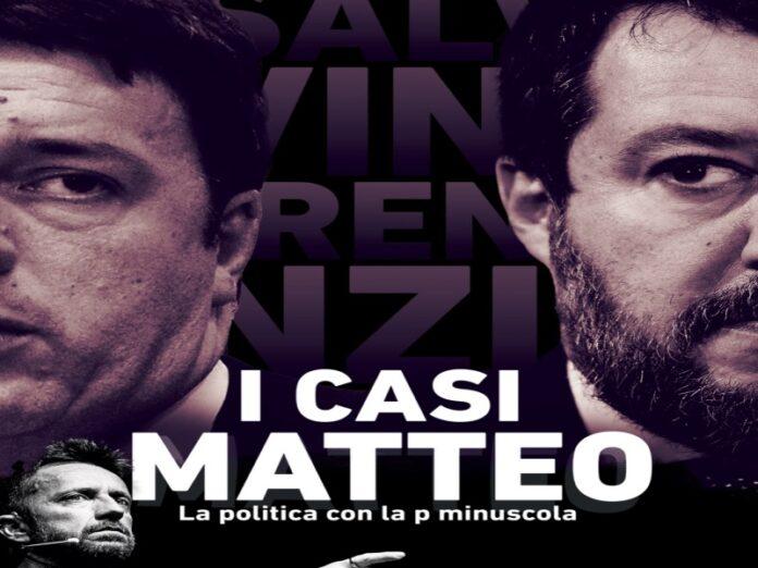 Salvini e Renzi nel libro di Scanzi