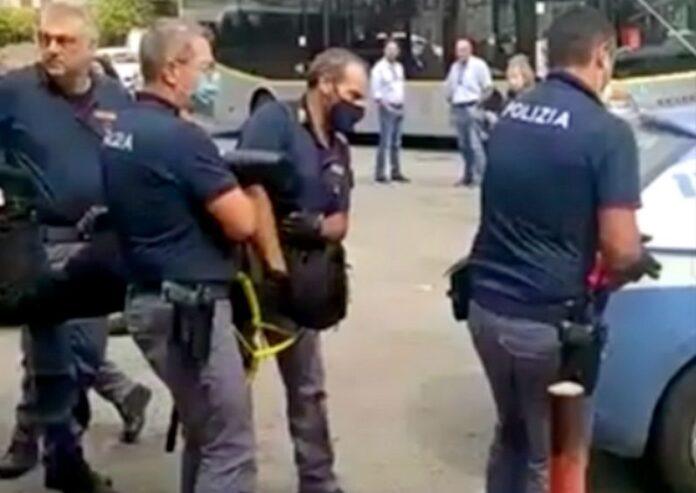 arresto molestatore pullman Cosenza