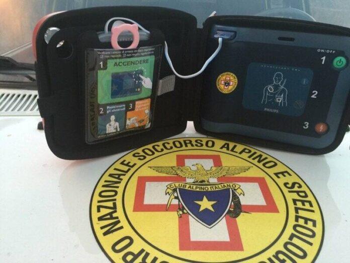defibrillatori al soccorso alpino e speleologico Calabria