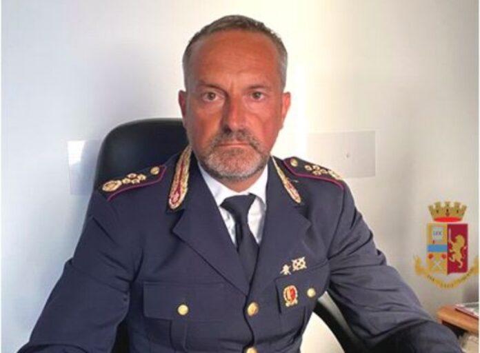 Fabio Catalano dirigente Squadra Mobile Catanzaro