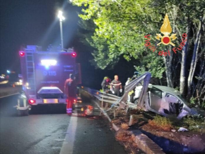 incidente stradale un morto Catanzaro
