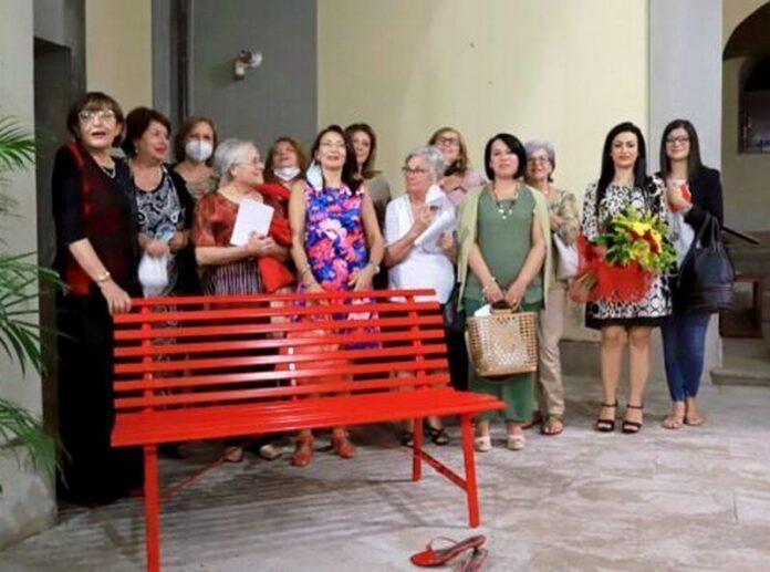 panchina rossa taurianova