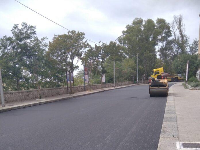 lavori strade Catanzaro