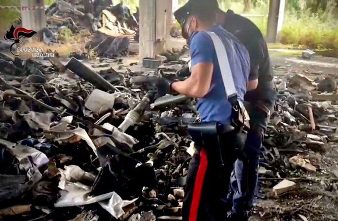 sequestro carabinieri vibo