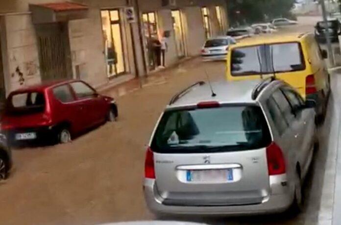 strade allagate soverato