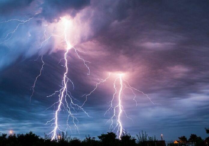 temporale fulmini