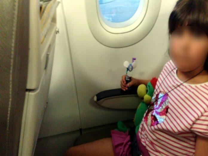 viaggio aereo bambini