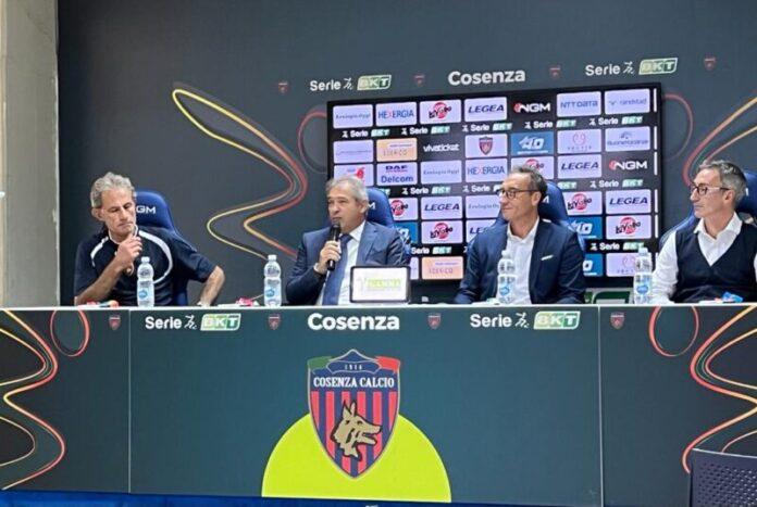 Conferenza stampa Cosenza e NTT DATA
