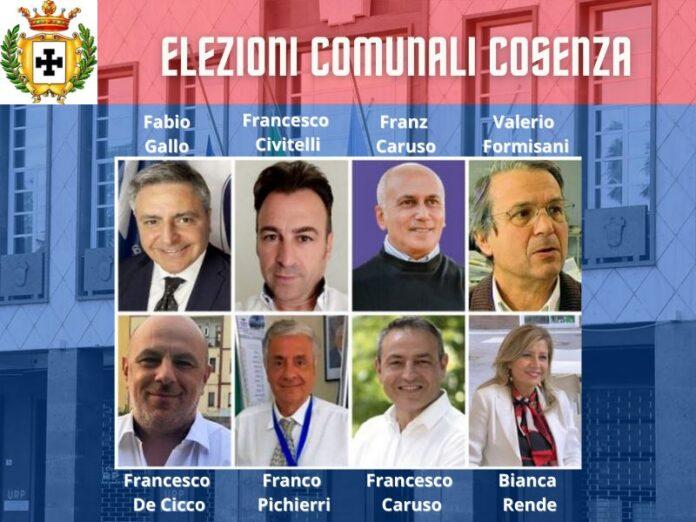 candidati sindaco cosenza
