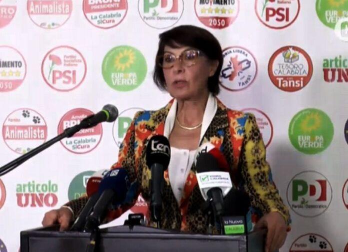 Amalia Bruni dichiarazioni dopo voto