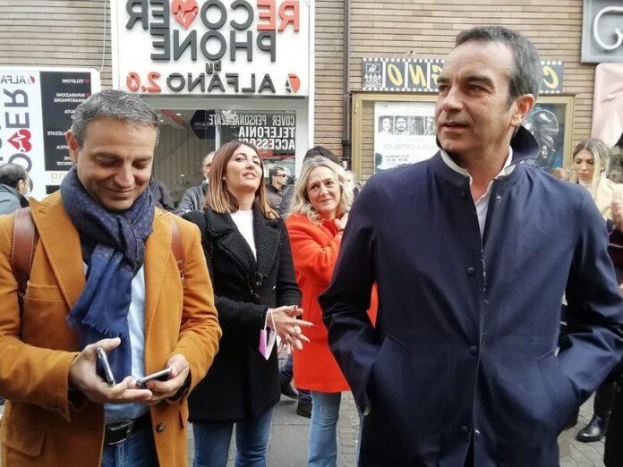 Roberto Occhiuto e Francesco Caruso