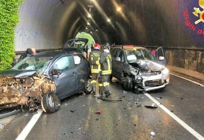 incidente stradale statale 18