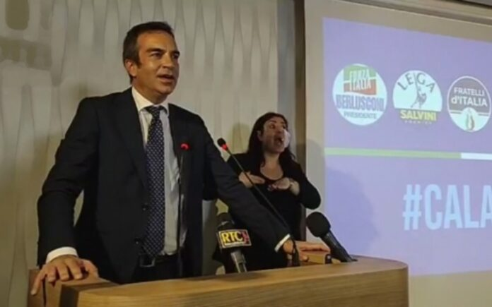 nuovo presidente Calabria Roberto Occhiuto